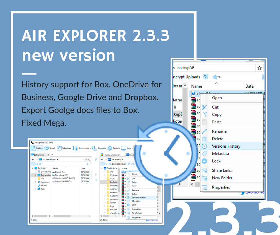 air explorer new version 2.3.3